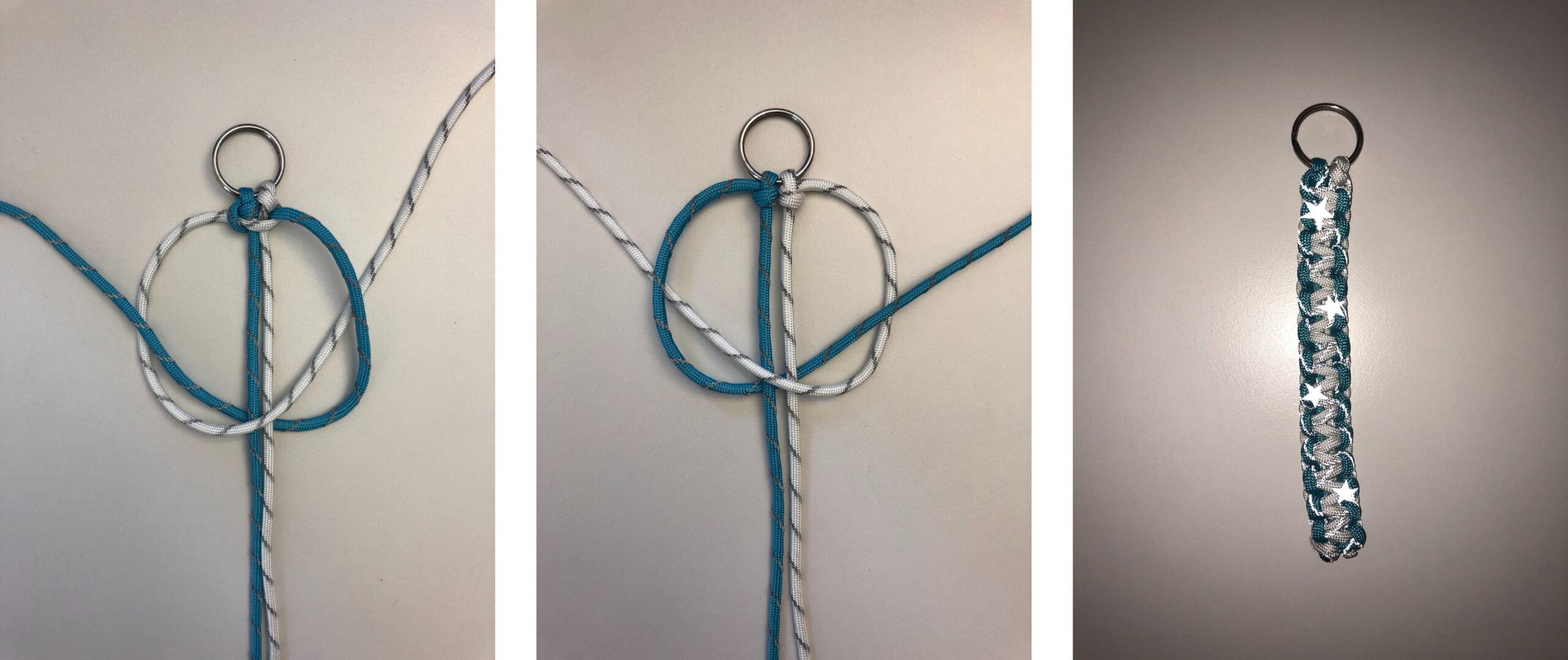 Istruzioni fai da te per un tragitto casa-scuola più sicuro: istruzioni passo passo per intrecciare il Paracord con nodi a cobra e fare scooby doo da zaino o braccialetti