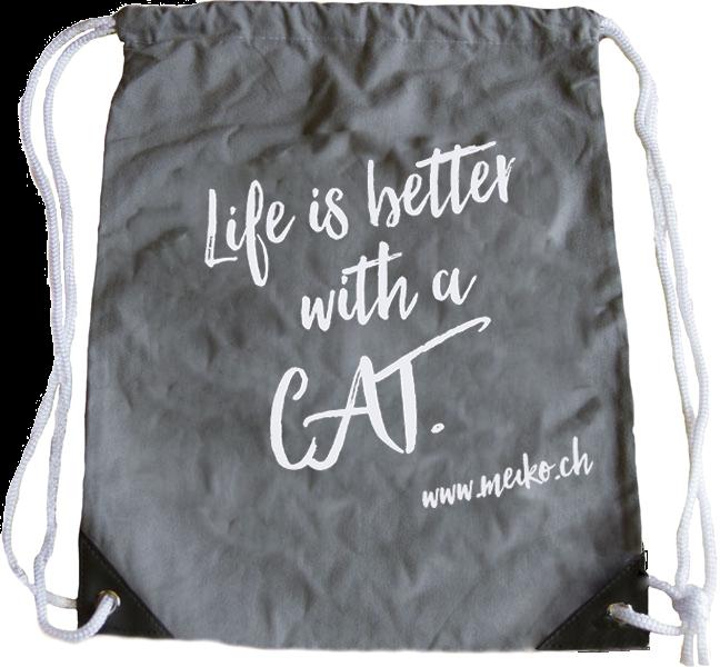 Fashionbeutel Cat reflektierend