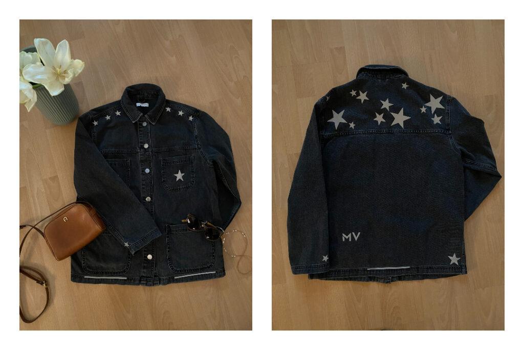 Reflektierende Jacke