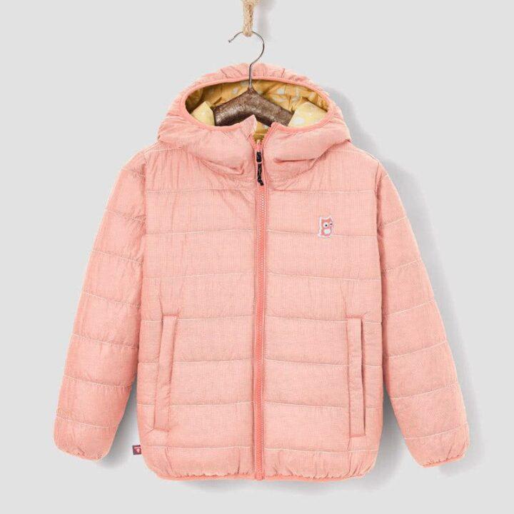 Jacke pink tag