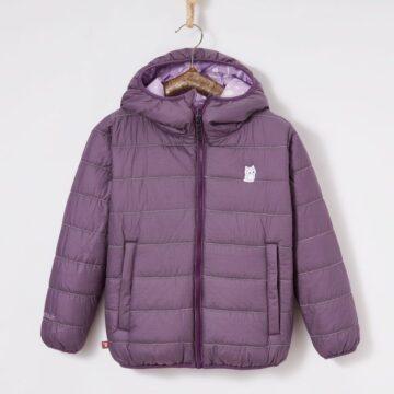 Jacke purpur Tag