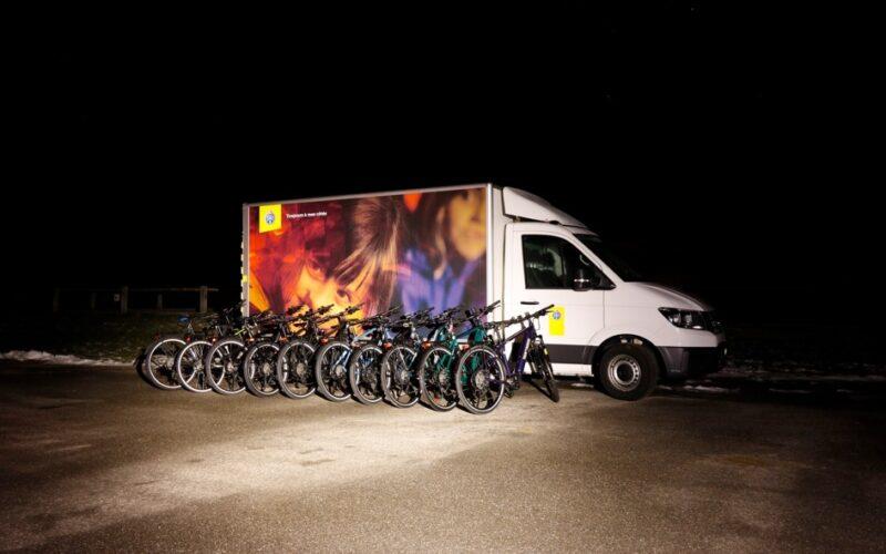 Alle E-Bikes im E-Bike-Test 2021 beim Beleuchtungstest