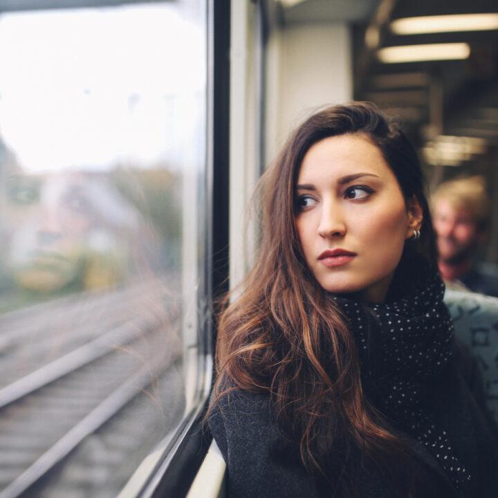 Pendolare sul treno