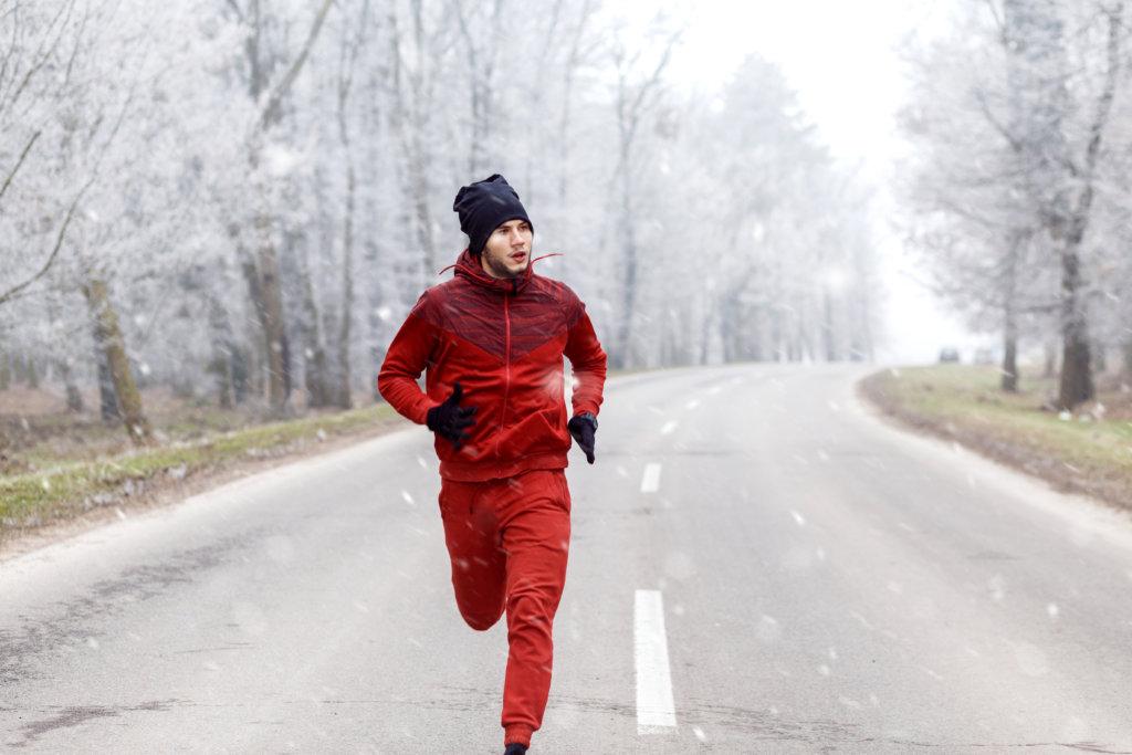 Le jogging en hiver