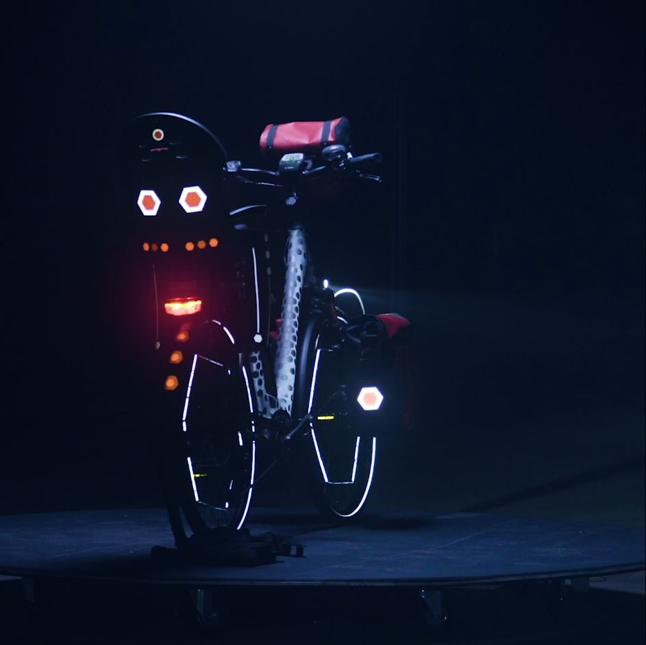 Progetto DIY: Seggiolino per bicicletta con catarifrangenti