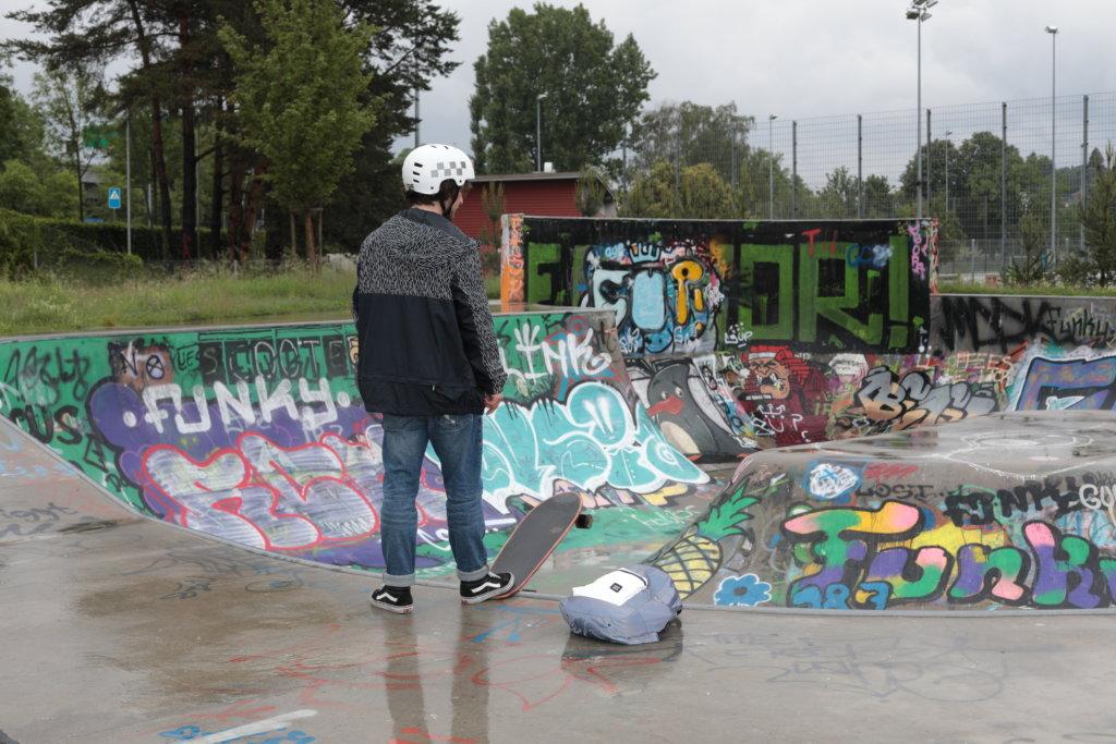 Skatebowl in der Brunau